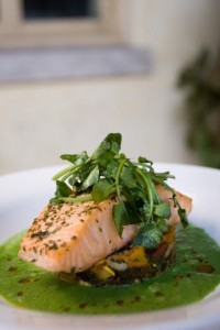 Salmon Cress Pesto